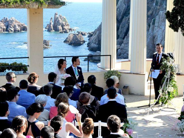 La boda de Nuria y Carlos en Blanes, Girona 25