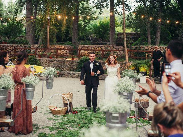 La boda de Fermín y Gemma en Alborache, Valencia 29