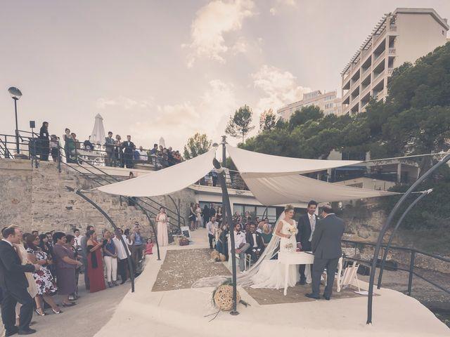 La boda de Sandro y Lara en Illetas, Islas Baleares 32