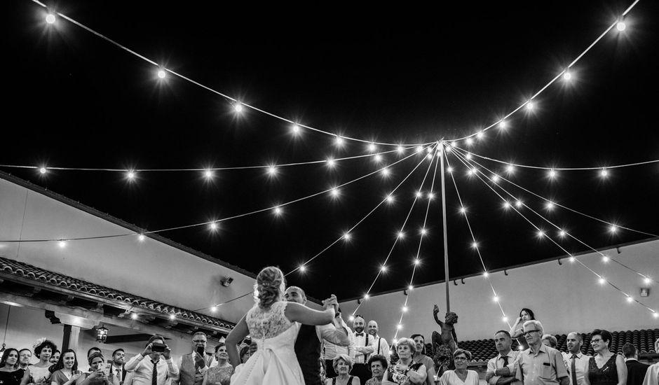 La boda de Javi y Estela en Alia, Cáceres