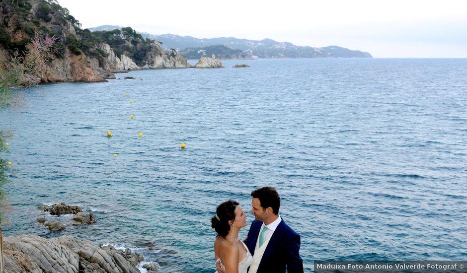 La boda de Nuria y Carlos en Blanes, Girona