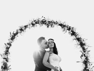 La boda de Angie y David