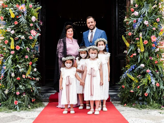 La boda de Pablo y Mª Mar en Granada, Granada 23