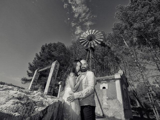 La boda de Miñano y Mónica en San Bartolome, Alicante 2