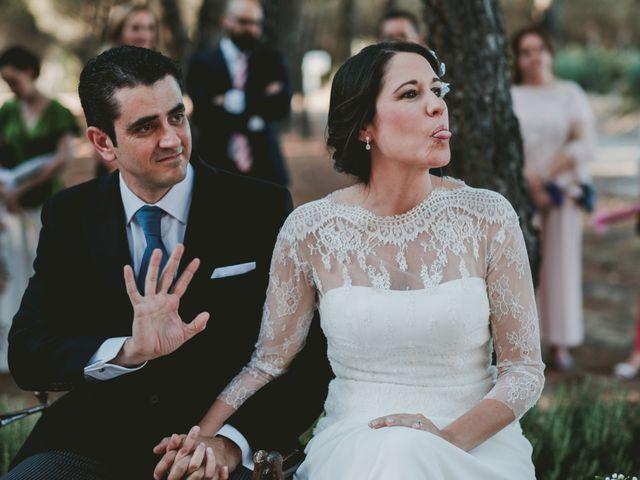 La boda de Vicente y Caridad en Valdetorres De Jarama, Madrid 84