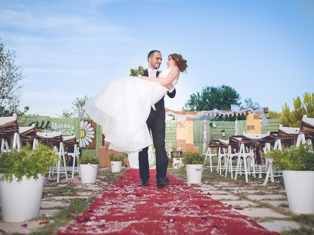 La boda de Sandra y Amadeu