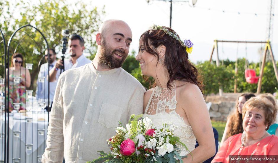 La boda de Miñano y Mónica en San Bartolome, Alicante