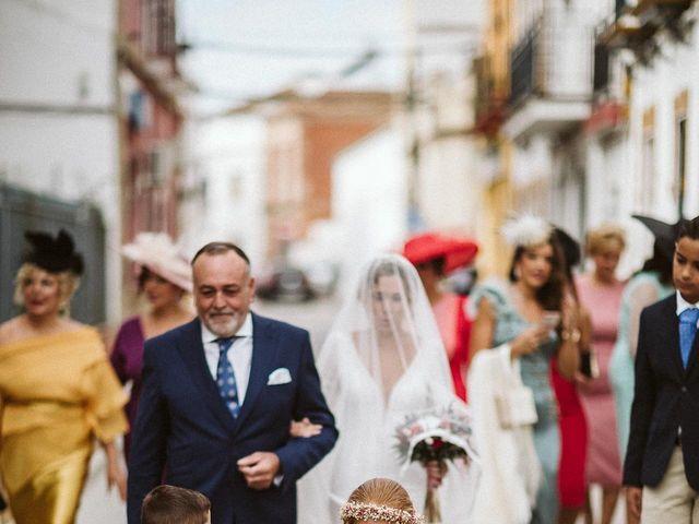 La boda de Antonio y Cristina en Villaverde Del Rio, Sevilla 40