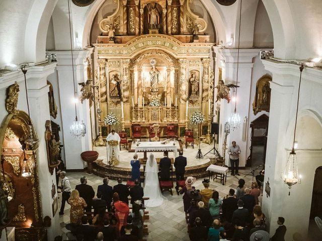 La boda de Antonio y Cristina en Villaverde Del Rio, Sevilla 47