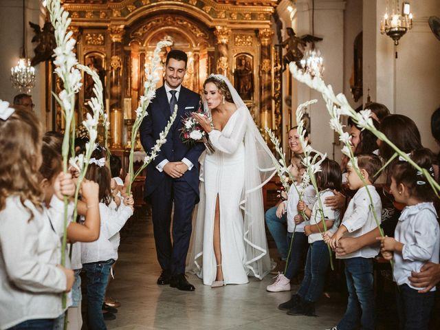La boda de Antonio y Cristina en Villaverde Del Rio, Sevilla 54