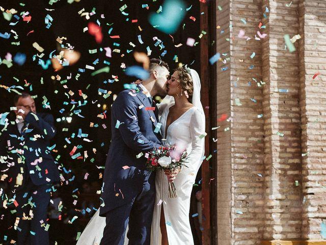 La boda de Antonio y Cristina en Villaverde Del Rio, Sevilla 55