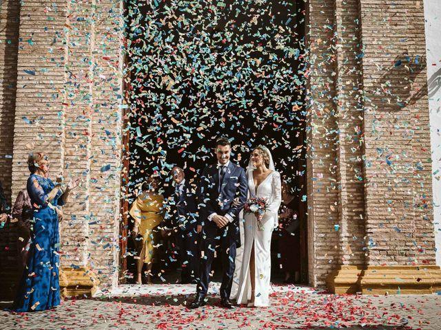 La boda de Antonio y Cristina en Villaverde Del Rio, Sevilla 56