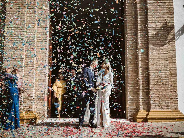 La boda de Antonio y Cristina en Villaverde Del Rio, Sevilla 57