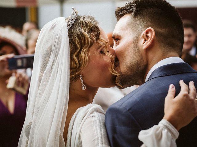 La boda de Antonio y Cristina en Villaverde Del Rio, Sevilla 58