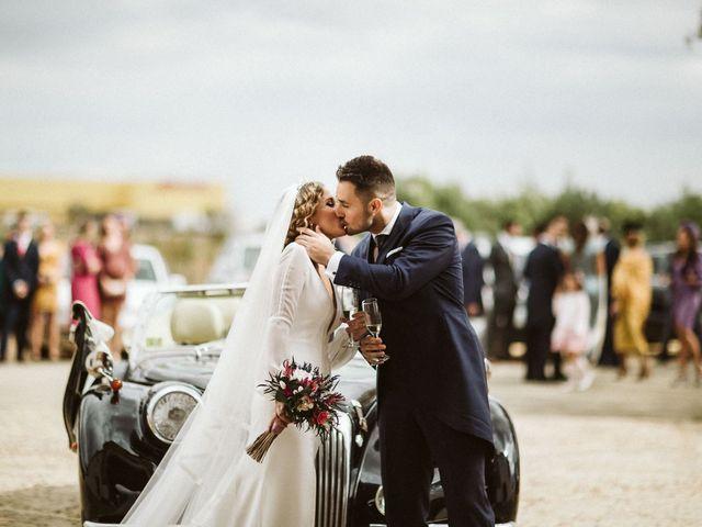 La boda de Antonio y Cristina en Villaverde Del Rio, Sevilla 59