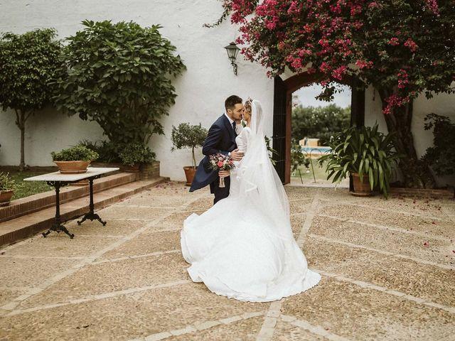 La boda de Antonio y Cristina en Villaverde Del Rio, Sevilla 61
