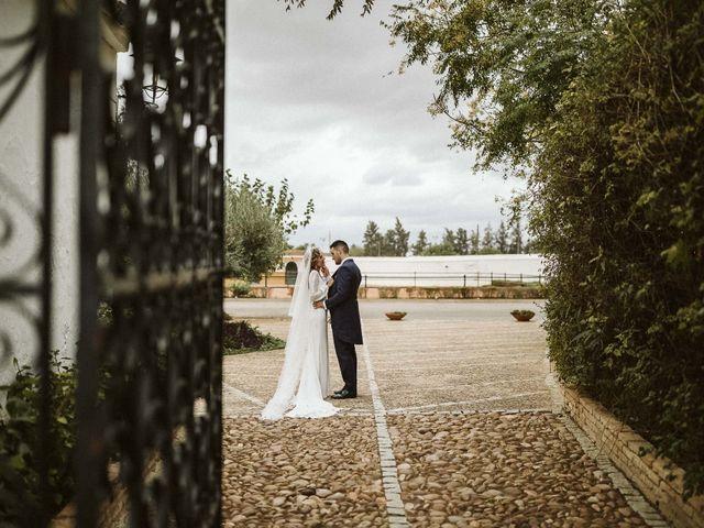 La boda de Antonio y Cristina en Villaverde Del Rio, Sevilla 67