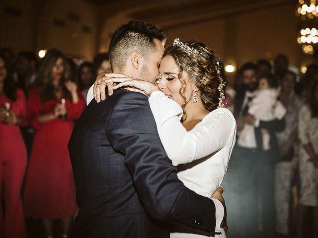 La boda de Antonio y Cristina en Villaverde Del Rio, Sevilla 95