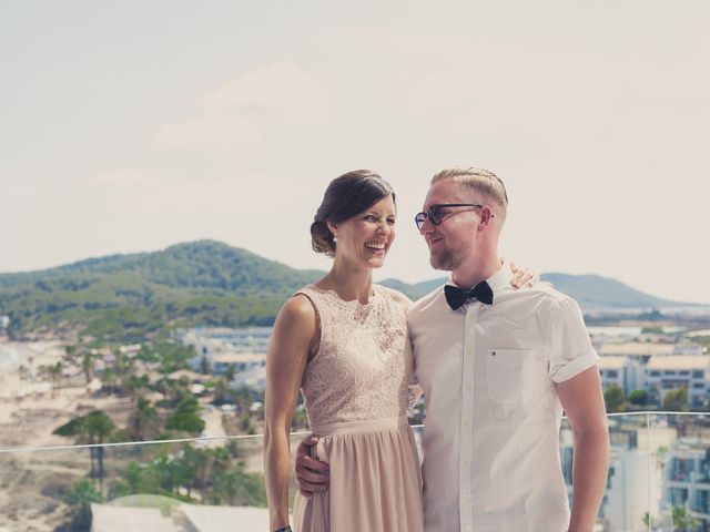 La boda de Ousmane y Jessica en Eivissa, Islas Baleares 18