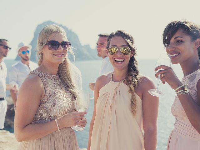 La boda de Ousmane y Jessica en Eivissa, Islas Baleares 32