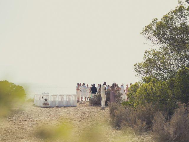 La boda de Ousmane y Jessica en Eivissa, Islas Baleares 33