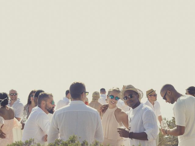 La boda de Ousmane y Jessica en Eivissa, Islas Baleares 34