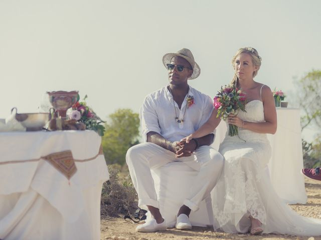 La boda de Ousmane y Jessica en Eivissa, Islas Baleares 35