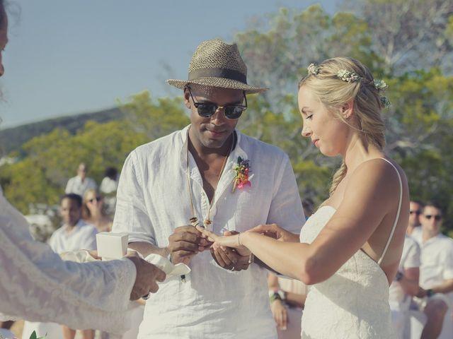 La boda de Ousmane y Jessica en Eivissa, Islas Baleares 36