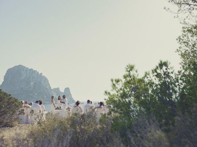 La boda de Ousmane y Jessica en Eivissa, Islas Baleares 37