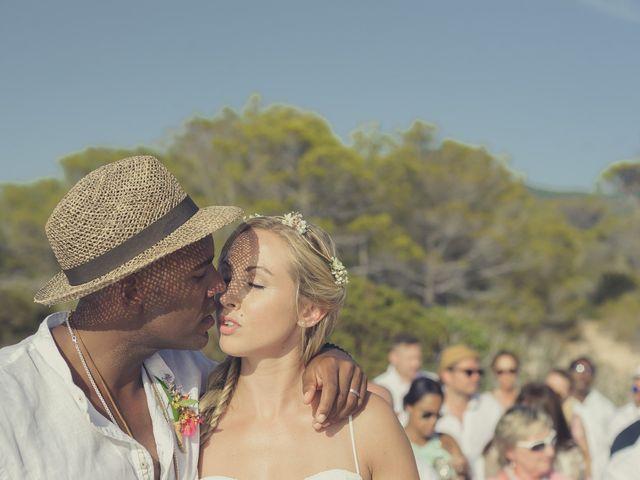La boda de Ousmane y Jessica en Eivissa, Islas Baleares 38