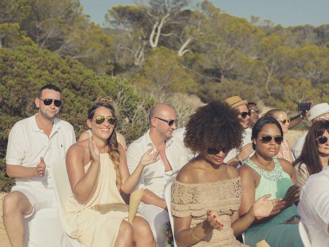 La boda de Ousmane y Jessica en Eivissa, Islas Baleares 41