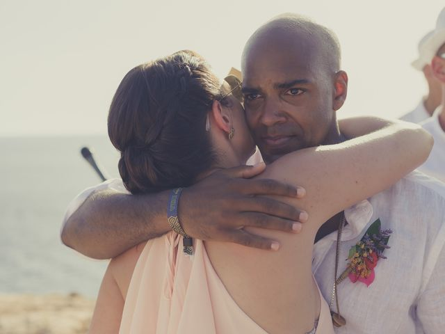 La boda de Ousmane y Jessica en Eivissa, Islas Baleares 43