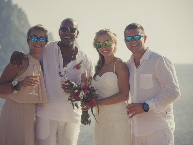 La boda de Ousmane y Jessica en Eivissa, Islas Baleares 46