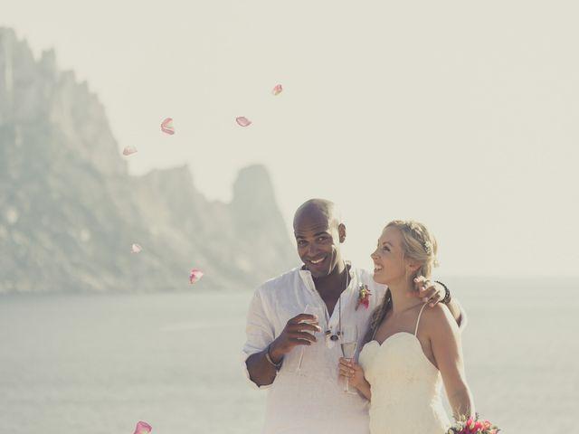 La boda de Ousmane y Jessica en Eivissa, Islas Baleares 47