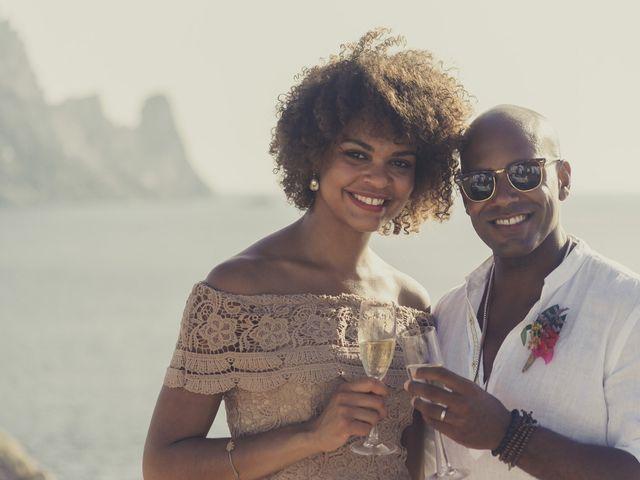 La boda de Ousmane y Jessica en Eivissa, Islas Baleares 48