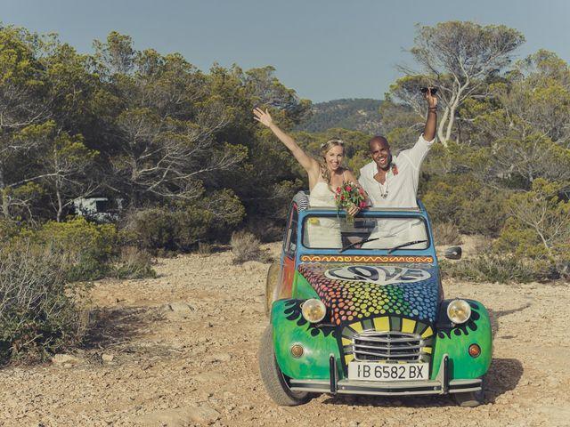 La boda de Ousmane y Jessica en Eivissa, Islas Baleares 52
