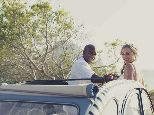La boda de Ousmane y Jessica en Eivissa, Islas Baleares 53
