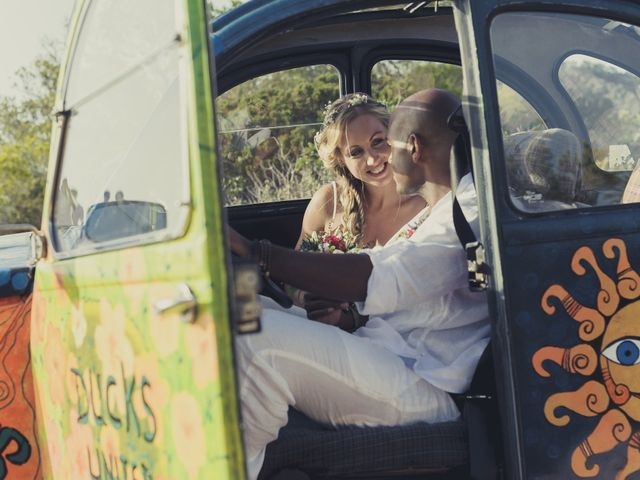 La boda de Ousmane y Jessica en Eivissa, Islas Baleares 56