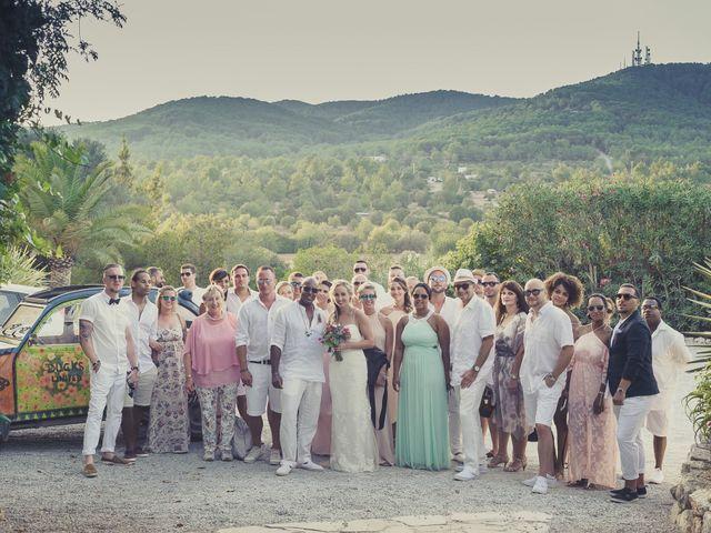 La boda de Ousmane y Jessica en Eivissa, Islas Baleares 57
