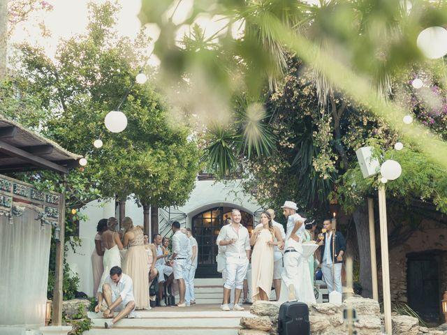 La boda de Ousmane y Jessica en Eivissa, Islas Baleares 60