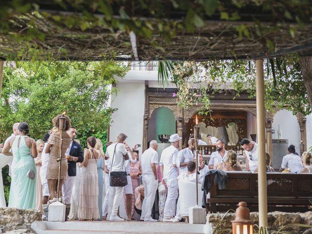 La boda de Ousmane y Jessica en Eivissa, Islas Baleares 63