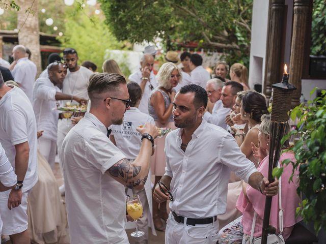 La boda de Ousmane y Jessica en Eivissa, Islas Baleares 65