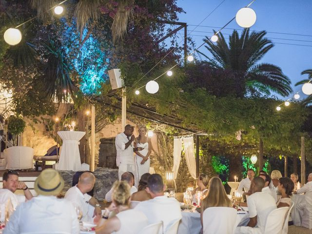 La boda de Ousmane y Jessica en Eivissa, Islas Baleares 71