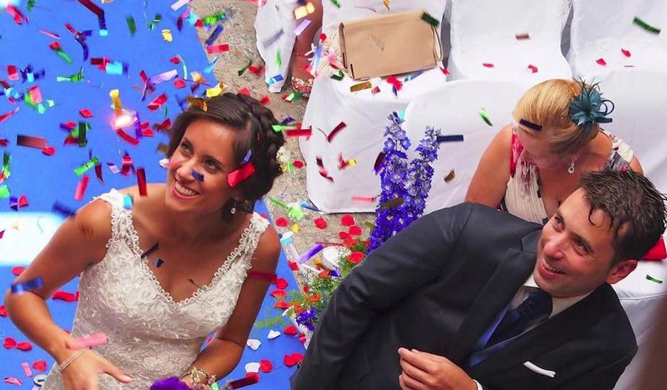 La boda de Dani  y María  en Pesqueiras, Lugo