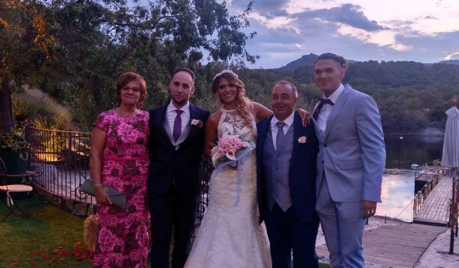 La boda de Alberto  y Mónica  en Guadarrama, Madrid