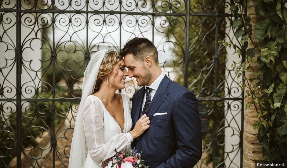 La boda de Antonio y Cristina en Villaverde Del Rio, Sevilla