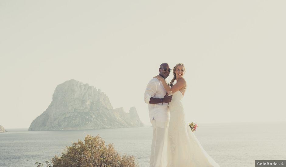 La boda de Ousmane y Jessica en Eivissa, Islas Baleares