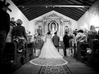 La boda de Alberto y Janette