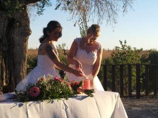 La boda de Mari Cruz y Yenny