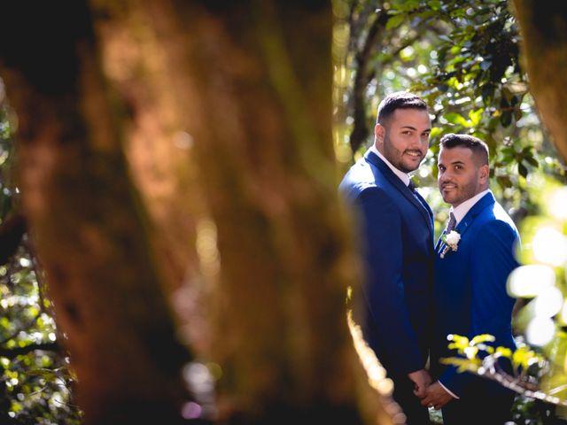 La boda de Julio y Kilian en Candelaria, Santa Cruz de Tenerife 36